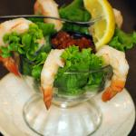 We have a great appetizer menu -- try a nice shrimp cocktail or our Tri-Pepper Calamari.