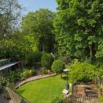 Beautiful rear garden.