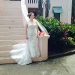 Beautiful La Sagesse Bride, Kaelin Groom