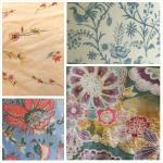 Some of the linens.