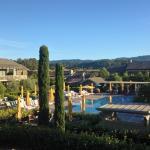 Enjoyable pool area