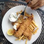 Catfish Fingers with fries