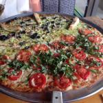 Gelato and pizza