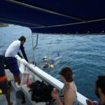 Surfacing after first dive