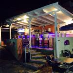 Adonis bar at night