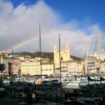 Le magnifique vieux port de Bastia