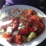 Greek meat feast!
