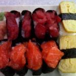 Sushis à volonté tartare thon saumon omelette 15,90 le soir