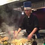 El Chef en accion
