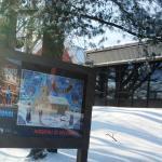 Entrance to Musee International d'Art Naif ,Magog, Canada