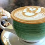 Did you know that every latte served at Honolulu Coffee is hand poured with a special design?