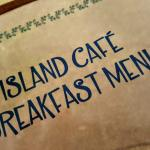 Island Cafe Breakfast Menu