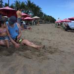 Foto de Legong Keraton Beach Hotel