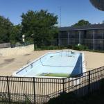 Old unclean pool