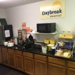 Breakfast food bar
