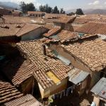 View on the Cusco rooftops.