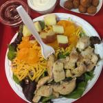 Our gourmet salads are delicious!!