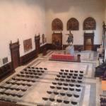 La prima sala della pinacoteca