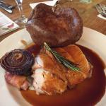 Sunday roast pork