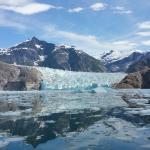 Beautiful laconte glacier