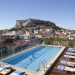 Acropolis view - pool
