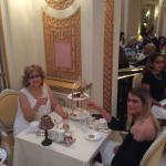 Tea at the Ritz in London.