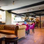 The bar at The Navigation Inn
