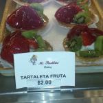 Fruit pastry. Delicious.