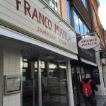 Franco Manca is a no frills Pizzeria in London