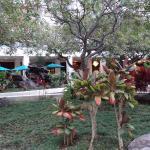 イリカイホテル中庭