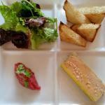 Tartelette au citron Foie gras...