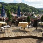Wellness Hotel Talblick, Trusetal, Außenterrasse