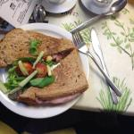 Granary toasted Brie & Bacon Sandwich