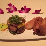 Ahi tuna poke (appetizer) - delicious!