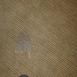 burn in carpet