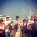 Everyone who caught a Flounder on our trip! All from PA!!