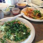 Cilantro and salsa heaven!