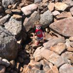 Nephew at Boulder Field