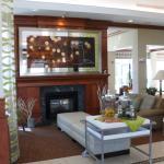 The Lobby Fireplace Area