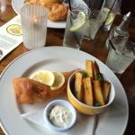 Lovely fish and chips