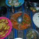 Gourmet Food on the Inca Trail ( Alpaca!)