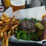 Fantastic burgers fries and beer. One of my atf burgers