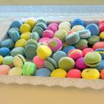 Colorful Macaroons - La Farfalla Bakery, Fremont, Ca