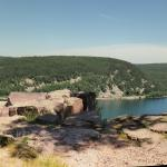 Devil's Lake State Park West Bluff view 2