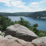 Devil's Lake State Park East Bluff view 1