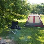 Wheeler's Campground Site view