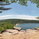 Devil's Lake State Park East Bluff view 3