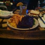 Poor quality photo, but perfect quality meal!