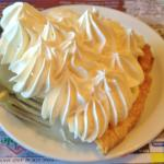 Banana Cream Pie - real banana slices under that freshly squeezed cream !