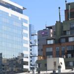 Edificaciones en barrio Las Condes